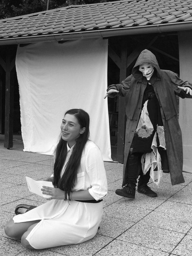 Divadelný súbor GONG - história 1 - letný divadelný tábor